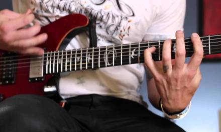 RED: Anthony Armstrong Guitar Lesson – Faceless