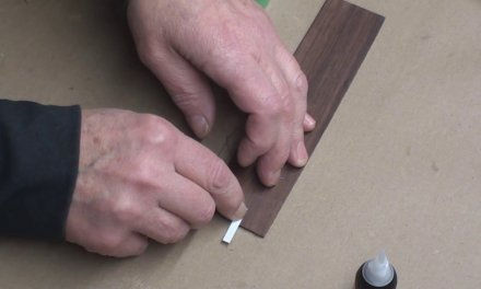 Adhesive Test For Guitar Binding Repair