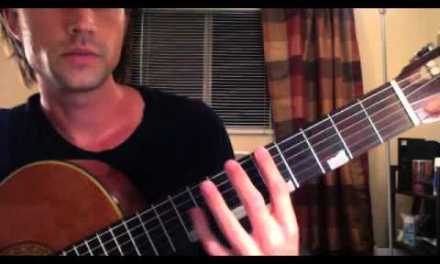 How far can you Stretch? Guitar finger stretch lesson and exercises – By Brett Sanders