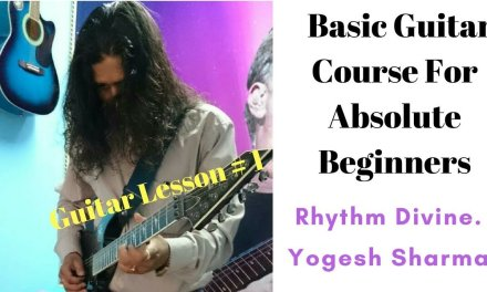 Basic Guitar Course For Beginner's Lesson # 1 || Guitar Lesson ||
