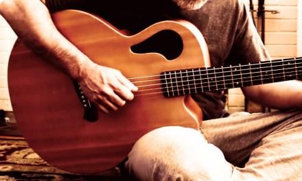 Early Morning Ambient ACOUSTIC Guitar (Tacoma Thunderhawk Baritone Guitar)