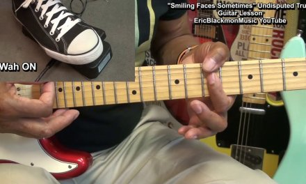 SMILING FACES SOMETIMES Wah Guitar Lesson Undisputed Truth 1971 EricBlackmonGuitar HQ