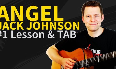 How to play Angel Guitar Lesson & TAB by Jack Johnson