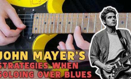 Solo Over Blues Like John Mayer: BREAKDOWN     Everyday I Have The Blues (LIVE IN LA Lesson)