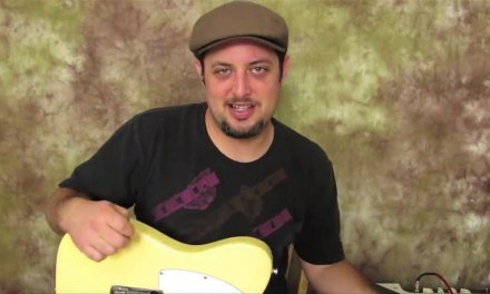 Beginner Blues Guitar Riff (Key of C) Plus Bonus Backing tracks