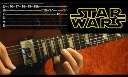 STAR WARS Guitar Lesson – Cantina Band