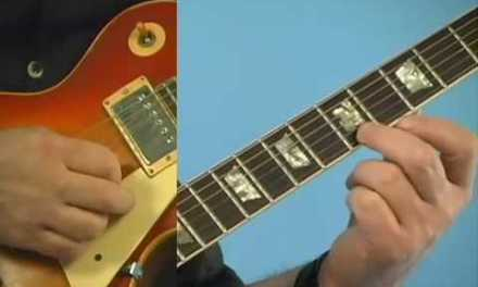 Guitar Lesson: Hammer-On Exercise