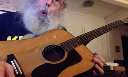 Messiahsez Slide Guitar Blues Lesson In Open G. Right Hand Technique On My 1968 Guild D38!