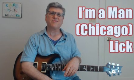 I'm A Man Lick (by Chicago – Guitar Lesson with TAB)