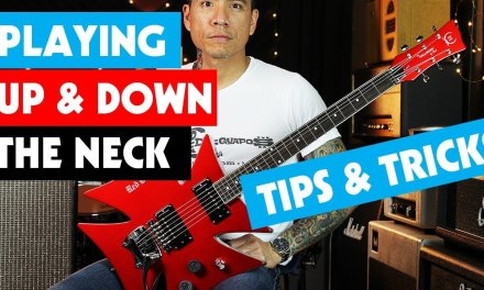 Playing Up & Down The Neck – Tips & Tricks – lesson by RJ Ronquillo