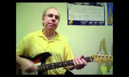 Pride and Joy Guitar Lesson with Chris Carusos