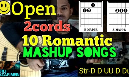 2Cords 10Songs Mashup Easy Guitar Lesson..By-Mera Guitar Channel(Hindi/Bengali)