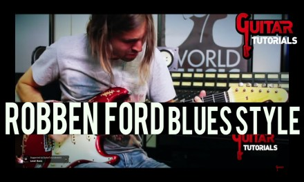 Robben Ford Blues Style – Guitar Tutorial with Paul Audia