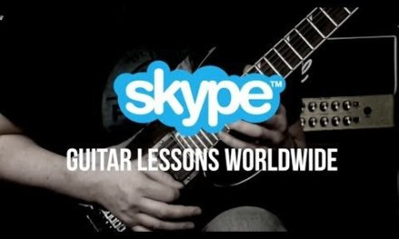 Skype Guitar Lessons  – Rock, Metal And Blues Guitar Lessons