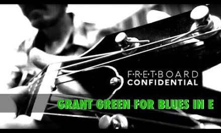 Grant Green for Fingerstyle Blues Guitar  in E