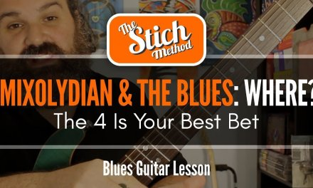 Myth Of The Mixolydian Blues Part 2: Where Does it Belong?