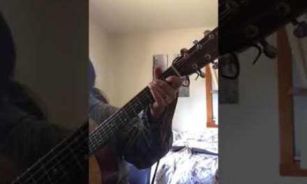 Blues in E – Sample pentatonic scale solo – Basic Guitar Lesson