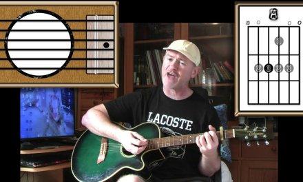 Swords Of A Thousand Men – Tenpole Tudor – Acoustic Guitar Lesson (easy-ish)