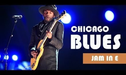 Chicago Blues Guitar Backing Track Jam in E