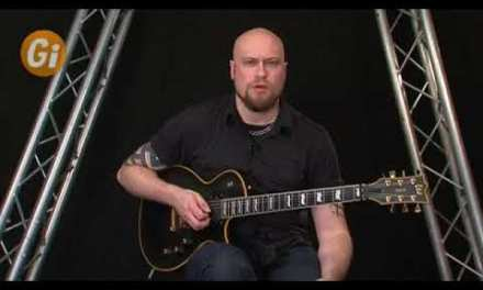 Andy James – Alternate Picking Using Positions Of The Major Scale Guitar Lesson