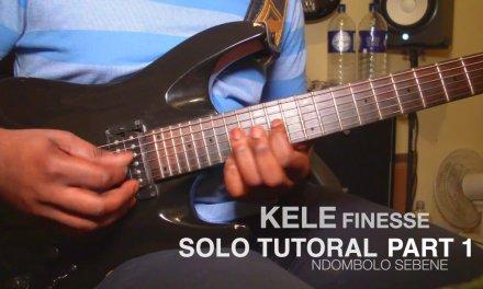 SOLO GUITAR TUTORIAL 1 – NS