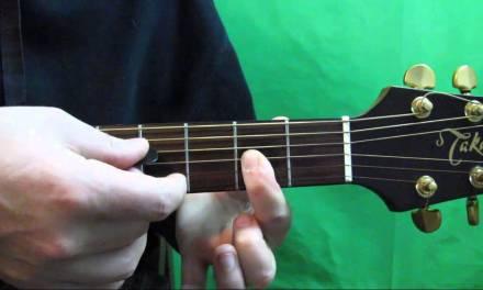 How to play the D Major 7 Guitar Chord – Dmaj7 Chord Guitar Tutorial
