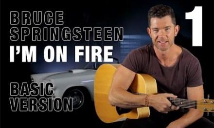 """I'm On Fire"" Part 2 – Beginner Guitar Lesson"