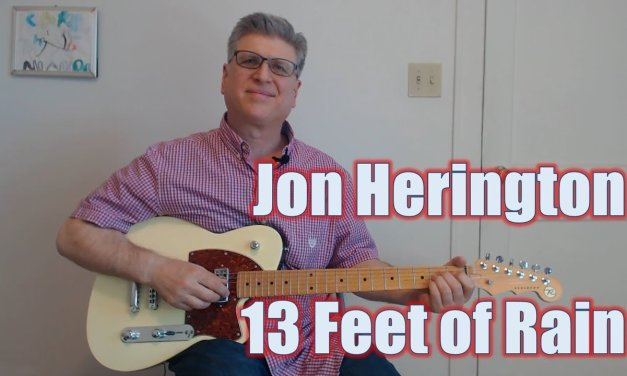13 Feet of Rain – Jon Herington (Guitar Lesson with TAB)