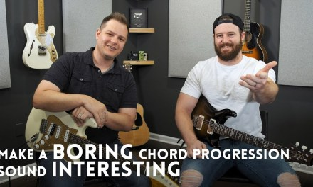 How to make a boring chord progression interesting // Guitar Lesson