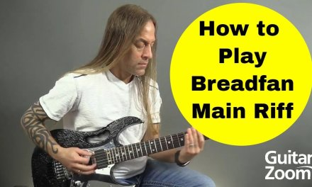 Essential Guitar Riffs – Learn to Play Breadfan by Metallica (Budgie) – Steve Stine Guitar Lessons