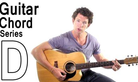 Beginner Guitar Chords 1 – The D Major Chord