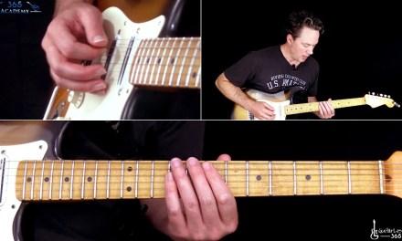 Ozzy Osbourne – Diary of a Madman Guitar Solo Lesson – Randy Rhoads
