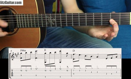 Super Easy Pentatonic Melody in A major for Beginners