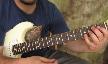Blues Guitar Lesson – Stevie Ray Vaughan Inspired Turnaround –