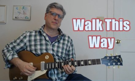 Walk This Way – Intro, Riffs, 1st Solo (Guitar Lesson with TAB)