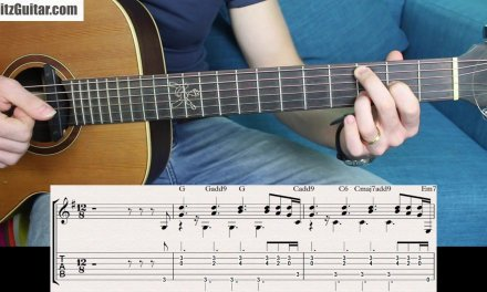 Basic Guitar Chords with Cool Sounding Voicing (Beginner Friendly)