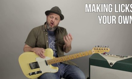 Making Licks Your Own! Lead Guitar Lesson