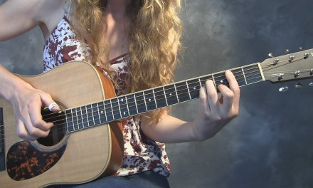 Coloring in the Open Chords | Key of D | Fingerstyle Guitar Lesson