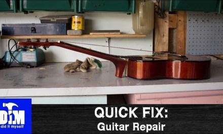 Quick Fix: Guitar Repair