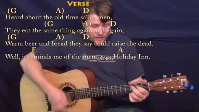 Cheeseburger in Paradise (Jimmy Buffett) Strum Guitar Cover Lesson ...