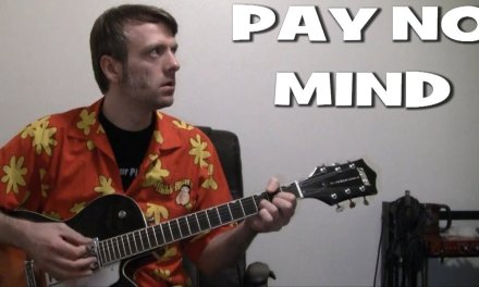 how to play Pay No Mind by Beck guitar lesson chords & tab