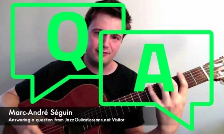 Q&A: Chords and Scales Fundamentals – for Jazz Guitar Beginners (Putting it All Together)