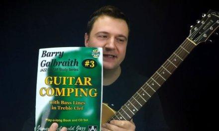 Jazz Guitar Vlog – Galbraith's Blues in 12 Keys (Part 1) – Comping Book