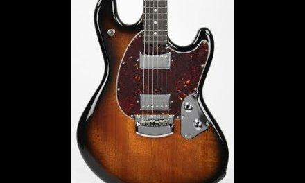 Music Man StingRay Guitar Vintage Sunburst