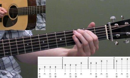 Free Mini Guitar Lesson: Basic G Major Scale