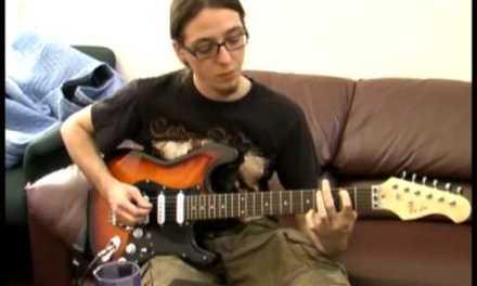 Metallica One intro guitar lesson