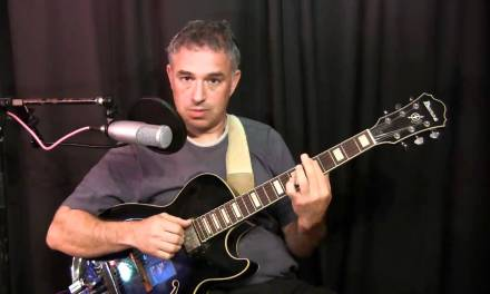 Jazz Guitar Harmony Lesson: V of V chord substitutions, Part 2 – Applications & Examples