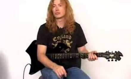 Guitar Lessons – Dave Mustaine – Megadeth
