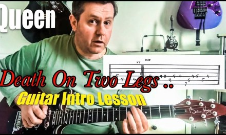 Queen – Death On Two Legs (Dedicated To…) Guitar Intro Lesson (Guitar Tab)