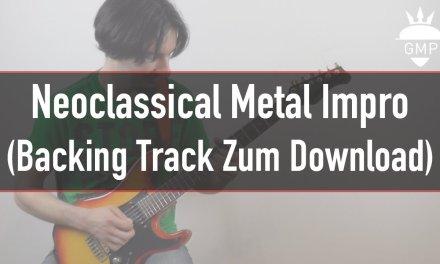 E-Gitarren Solo – Neoclassical Metal in A-Moll – Mit Backing Track   Guitar Master Plan
